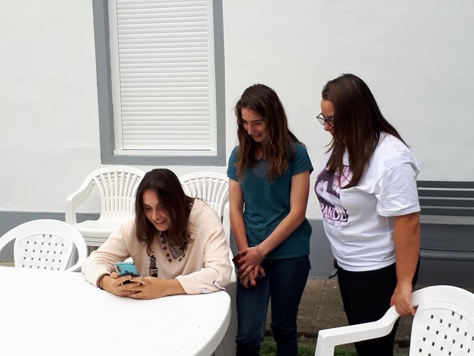 Cléa, Mathilde et Chloé