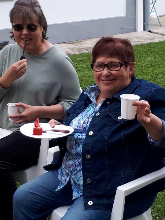Andree fete ses 74 ans juin 2020